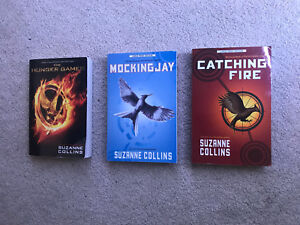 THE HUNGER GAMES BOOK TRILOGY FOR SALE