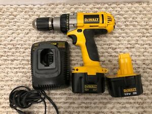 Dewalt XRP Drill 12 volt with 2 batteries in great shape.