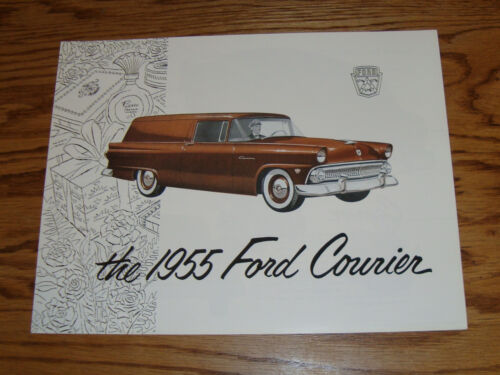 1955 Ford Courier Foldout Sales Brochure 55