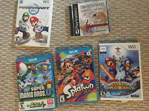 High value games for cheap! Wii U, PlayStation, Wii,