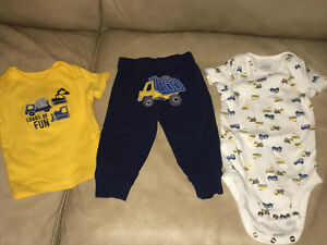 BRAND NAME 3m and 3-6m boys clothes