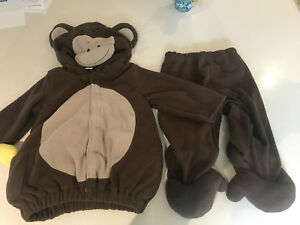 Monkey costume 12-24m Halloween