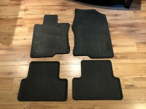 Acura TSX OEM All Season/Winter Floor Mats and Cargo Tray