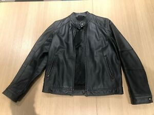 Acton Old Hide House Leather Jacket (Size Men's Small)