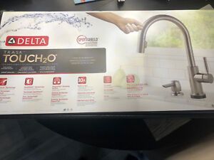 Delta Trask Touch Kitchen Faucet