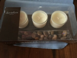 Brand New Claire Du Lune Candle Set