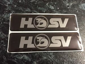 HSV VR VS SIDE SHIRT BADGES CLUBSPORT SENATOR MALOO GTS COMMODORE Sutherland Sutherland Area Preview