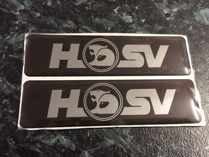 HSV VR VS SIDE SHIRT BADGES CLUBSPORT SENATOR MALOO GTS COMMODORE