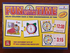 Creative's Fun with Time Educational Game O'Halloran Hill Marion Area Preview