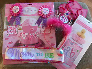 Baby Girl Shower Party Supplies