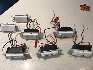 Leviton Dimmers with Preset