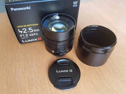 Panasonic Leica 42.5mm f1.2 Nocticron