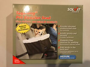 $25 pet dog cat booster car seat brand new.