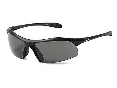 New $95 Under Armour UA Zone Sport Sunglasses Satin Black Gray 8600010-4801