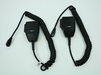 2 X Military Police Ma-com Mobile 2-way Macom Radio Microphone Mc-101616v1 R3a