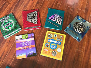 Guinness world book of records books