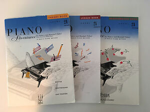 Piano lesson books lot