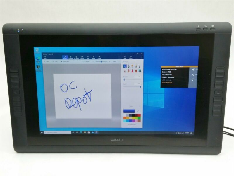 "Wacom Cintiq 22HD DTK-2200 21"" Artist Interactive Touch Display Graphics Tablet"