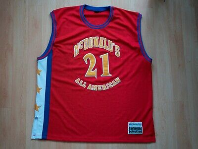 RARE NBA Darius Miles Jersey Limited Edition McDonald High School Legends 54 3XL