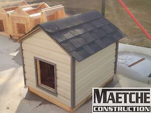 Insulated Dog Houses ( By Maetche Construction) Edmonton Edmonton Area image 4