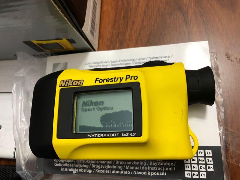 Nikon Laser Entfernungsmesser Forestry Pro : Nikon forestry pro laser range finder waterproof sell