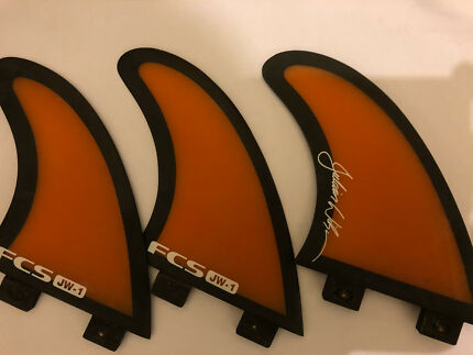Julian wilson fcs fins excellent condition like new