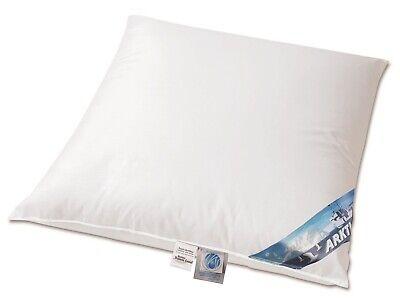 ARKTIC Daunenkissen arktischer Daunenflaum 100 % Daunen 80x80 cm weich 700 g