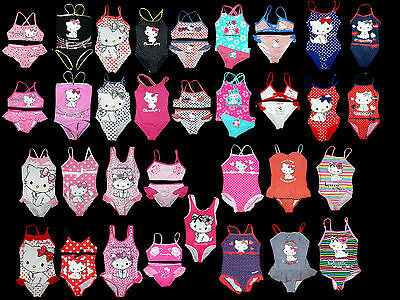 Hello Charmmy Kitty Badeanzug Tankini Bikini Hello Kitty Gr. 92 - 152