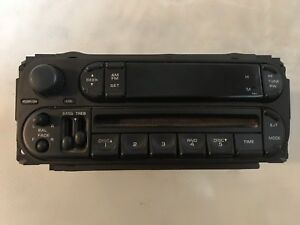 2002-07 Chrysler Dodge Jeep stereo / radio