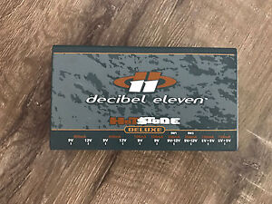 Decibel Eleven Hot Stone Deluxe Isolated Power Supply Bardon Brisbane North West Preview
