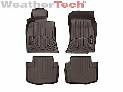WeatherTech FloorLiner Mats for Cadillac CTS/CTS-V Sedan - 1st/2nd Row - Cocoa