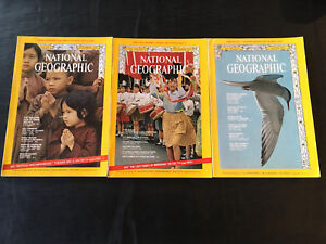 Vintage National Geographic Magazines