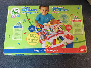 Leap Frog Leap Start Learning Table