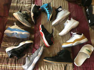 Nike, Jordan, Adidas, Lacoste