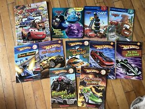 Cars and hot wheels books