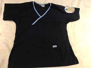 XS Georgian College scrubs with crest patch already sewn on
