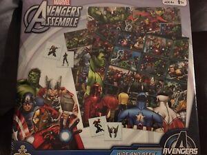 Avengers hide and seek board game