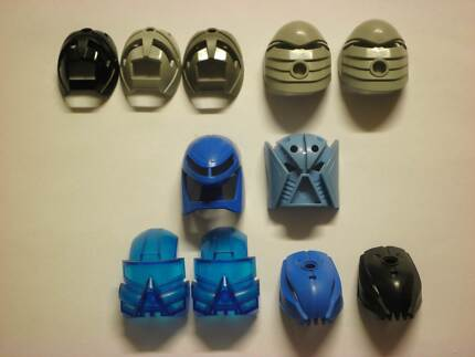 Lego Bionicle Masks various types & prices Heathcote Sutherland Area Preview