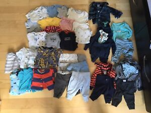 Lot de linge newborn clothing (boy / garçon)