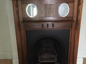Stunning period fireplace and mantle