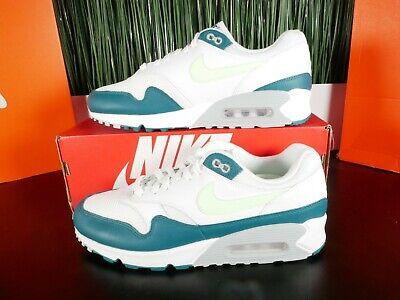 Nike Air Max 90/1 White Lime Blast Running Shoes AJ7695-103 Multi Size