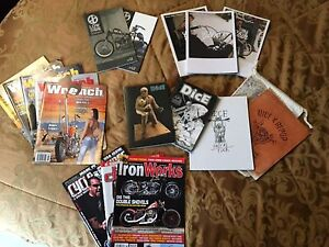 Various motorcycle magazines