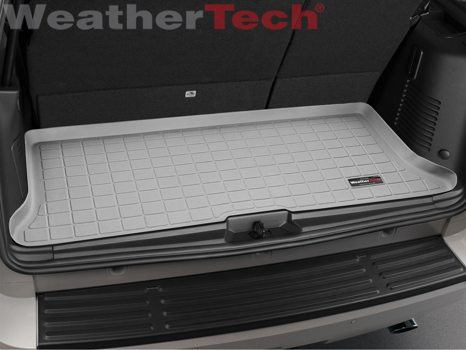 WeatherTech Custom Fit Cargo Liners for Ford Expedition Grey