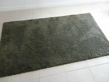 RUG CARPET RUNNER GREEN KHAKI HIGH PILE FLUFFY SOFT CUSHION NEW Byron Bay Byron Area Preview