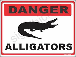 Alligator Sign Ebay
