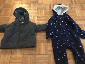 Winter toddler clothes, size 12-18 m