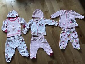 3 pyjamas prématuré fille