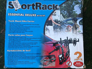 NEW SPORTRACK Essential Deluxe A1161XT 2x bike rack carrier