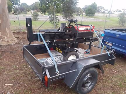 HIRE - Log Splitter - Very easy to use