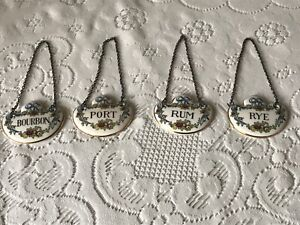 STAFFORDSHIRE BOTTLE TAGS